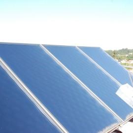 Instalación de energía solar térmica y climatización